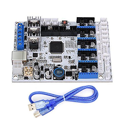 3D Printer Controller GT2560 Motherboard Board with USB Cable Support Prusa Mendel Dual Extruder