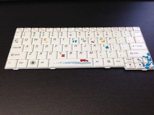 NEW US Keyboard for Lenovo V103802AS1-US PK1308H3B75 White