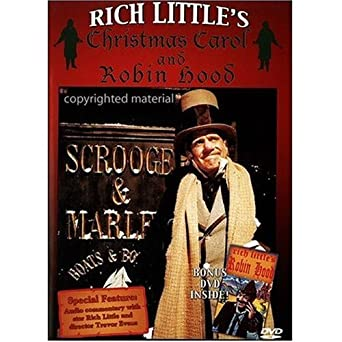 Amazon.com: Rich Little's Christmas Carol and Robin Hood: W.C. ...