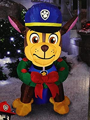 Airblown Self-Inflatable Christmas Decor Paw Patrol Chase 3 Feet Tall