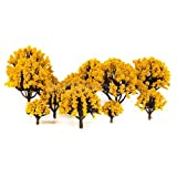 20 Multi Scale Model Trees Train Railroad Diorama Wargame Autumn Scenery HO OO N offers