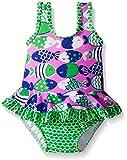 Flap Happy Baby Girls' Upf 50+ Stella Infant Ruffle Suit with Swim Diaper