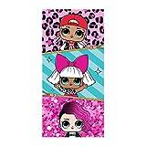MGA LOL Cotton 28'' x 58'' Kids Beach Towel