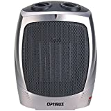 Electric Portable Heater, Optimus H-7004 Ceramic Small Room Patio Heater Portable