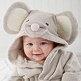 Pawaca Soft Cartoon Baby Bath Towels Hooded Towel Newborn Blanket Swaddle Baby Bathrobe, for Infant Toddler Girls Boys