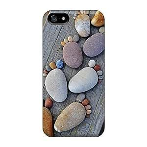 Cute High Quality Iphone 5/5s Stone Feet Case