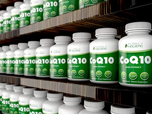 CoQ10 240 SoftGels ★ 100% Money Back Guarantee ★ High Absorption Coenzyme Q10 ★ Made in The USA to GMP Standards ★ Up to 8 Month's Co Q 10 Supply