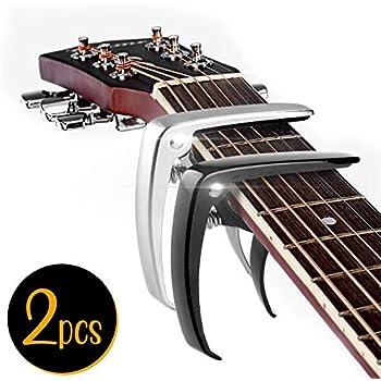 guitar capo for acoustic guitar electric guitars ukulele banjo and mandolin no. Black Bedroom Furniture Sets. Home Design Ideas