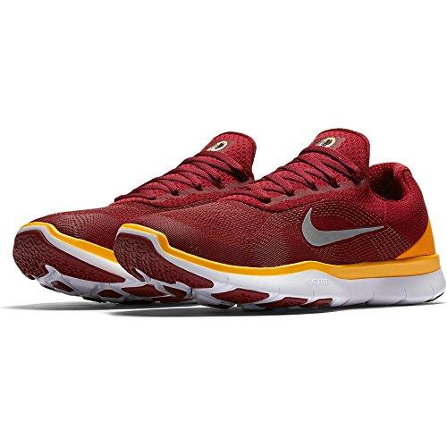 Nike Heren Gratis Trainer V7 Nfl Washington Redskins Sportschoenen - Maat 12 M Ons