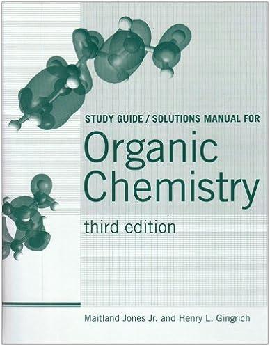amazon com organic chemistry study guide solutions manual rh amazon com Chemistry Chang 10th Organic Chemistry Biochemistry