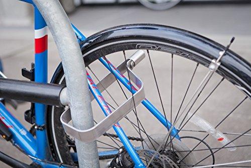 TiGr mini+ 2-Pack: 2 Bike Locks & 4 Keys (Keyed Alike) & 2 Mounting Clips by TiGr Lock (Image #3)