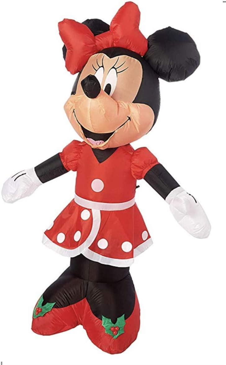 Disney Minnie Mouse Outdoor Inflatable Yard Decorations