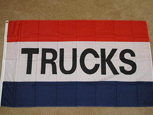 Home Comforts TRUCKS Flag Truck Dealer Dealership Advertisin