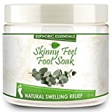 Euphoric Essentials Skinny Feet Foot Soak reduces swollen feet and ankles