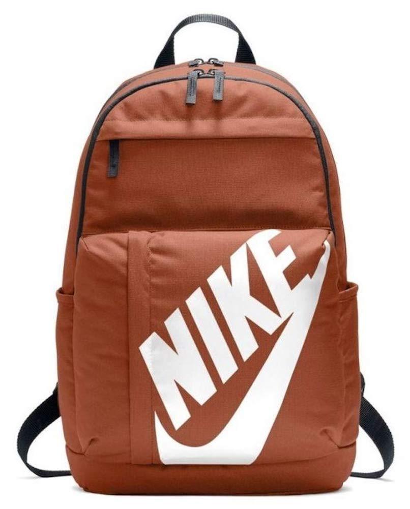 NIKE Sportswear Elemental Backpack (One Size, Dark Russet/Black/White)