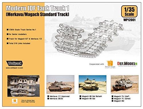(WOLFPACK 1/35 Moderrn IDF Tank Track 1 [ merkava /magach Standard Track WP12001)