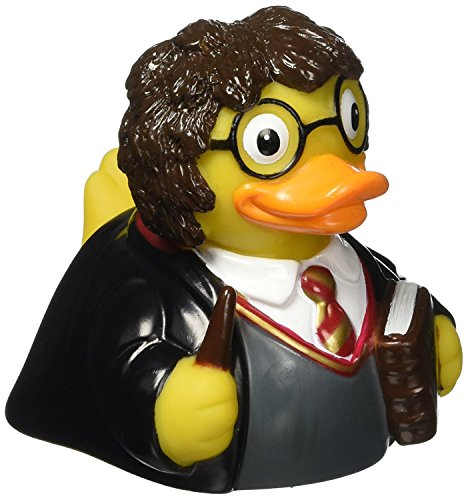 CelebriDucks Harry Ponder Young Wizard Rubber Duck Bath Toy]()