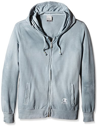 Champion  Hooded Full Zip Sweatshirt - Forro para mujer Gris - gris antracita