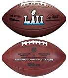 Wilson NFL Super Bowl LII (52) Official Football New England Patriots vs Philadelphia Eagles