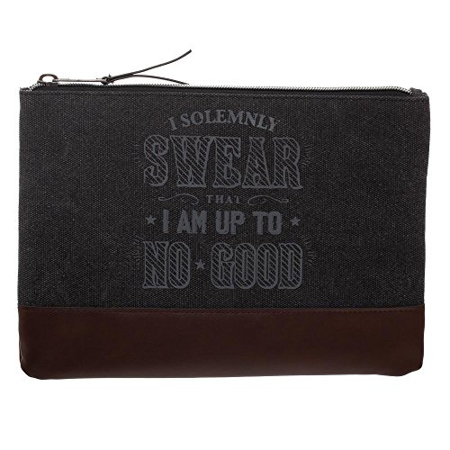 Harry Potter Pencil Case Harry Potter School Supplies - Harry Potter Accessories I Solemnly Swear That I Am Up To No Good Marauders Map Pencil Case - Harry Potter Office Supplies by Bioworld (Image #2)