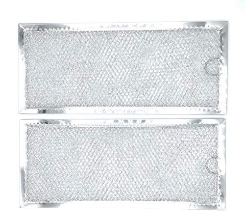 Blendin Replacement WB06X10596 Grease Air Filter, Compatible with GE Microwaves Range Hood (2 -
