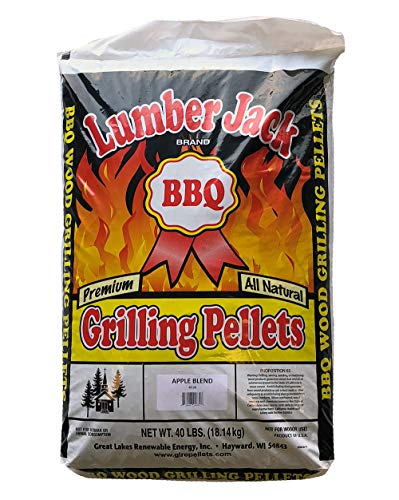 Lumber Jack Apple Blend BBQ Grilling Pellets - 40 lbs. by Lumber Jack