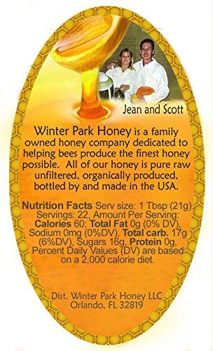 Tupelo Honey 5Lb (Pure Natural Raw Honey - 80oz) by Winter Park Honey (Image #1)