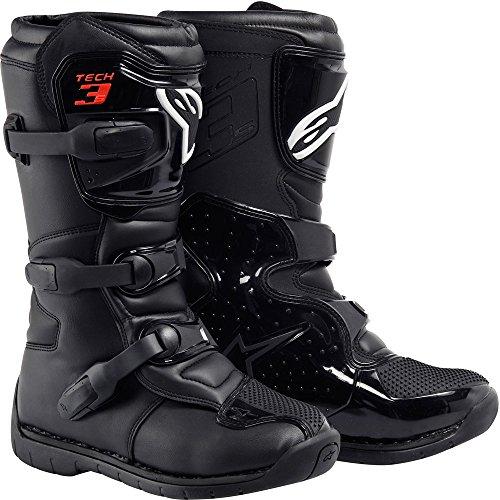Alpinestars Tech 3S Boy's Off-Road Motorcycle Boots - Black