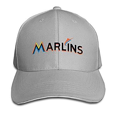 YesYouGO Miami Marlins Baseball Logo Adjustable Snapback Caps Baseball Peaked Hat