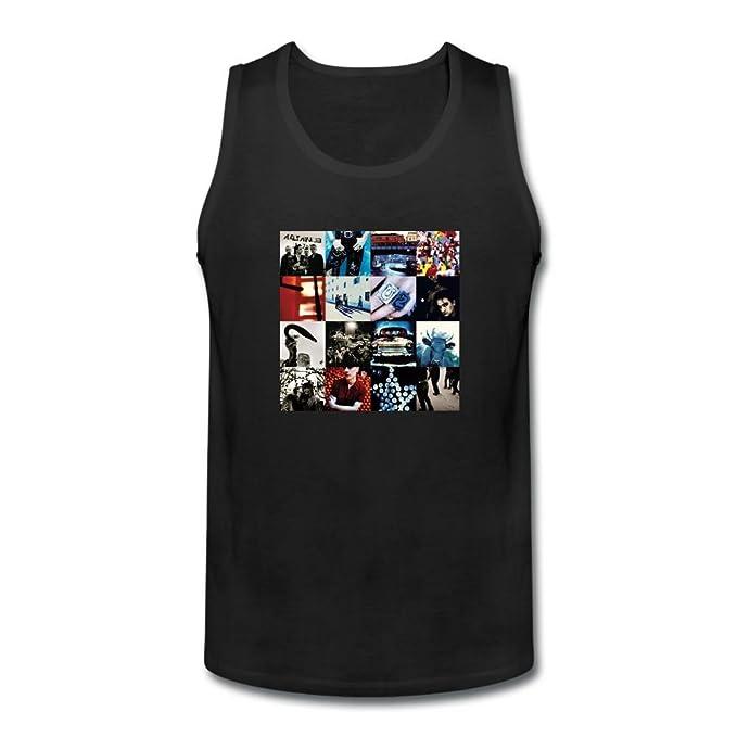 Xiuluan Xiuluan Hombres de U2 Achtung bebé camiseta de tirantes