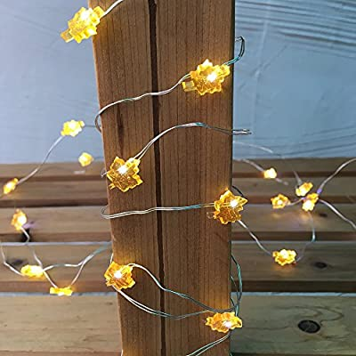 30-LED 10ft Copper String Light, Led Starry String Light Battery-Operated Decorative Lights For Bedroom Patio Parties