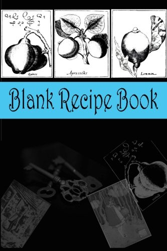 Blank Recipe Book (Teal and Black): Recipe Gift Books for Family, Friends & Book Lovers (Best DIY Homemade Cookbooks Series) (Volume 2)