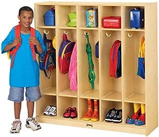 product image for Jonti-Craft 5 Section Coat Locker