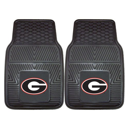 FANMATS NCAA University of Georgia Bulldogs Vinyl Heavy Duty Car Mat