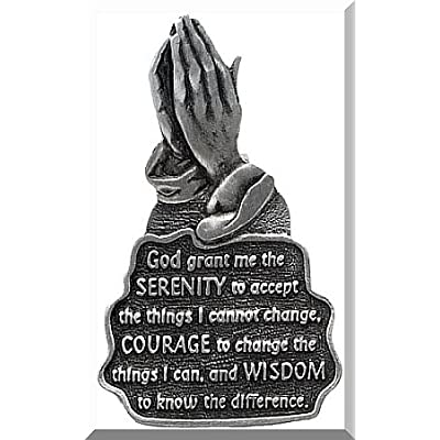 Cathedral Art KVC126 Auto Visor Clip, Serenity Prayer, 2-3/8-Inch: Arts, Crafts & Sewing [5Bkhe1006316]