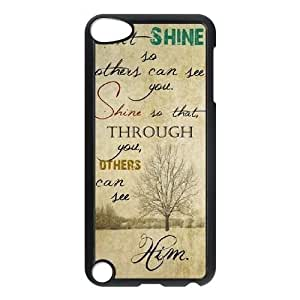 DIY Life Inspirational Quotes Ipod Touch 5 Cover Case, Life Inspirational Quotes Personalized Phone Case for iPod Touch5 at Lzzcase