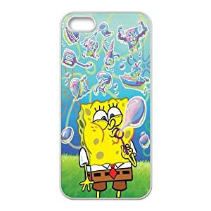 iPhone 4 4s Cell Phone Case White Sponge Bob pgv