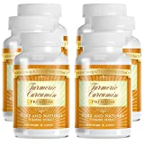 Turmeric Premium - 100% Pure Turmeric Extract with 95% Curcumin - With Bioperine (Piperine) - 1000mg - 100% Money Back Guarantee - 360 Capsules - 6 Months Supply