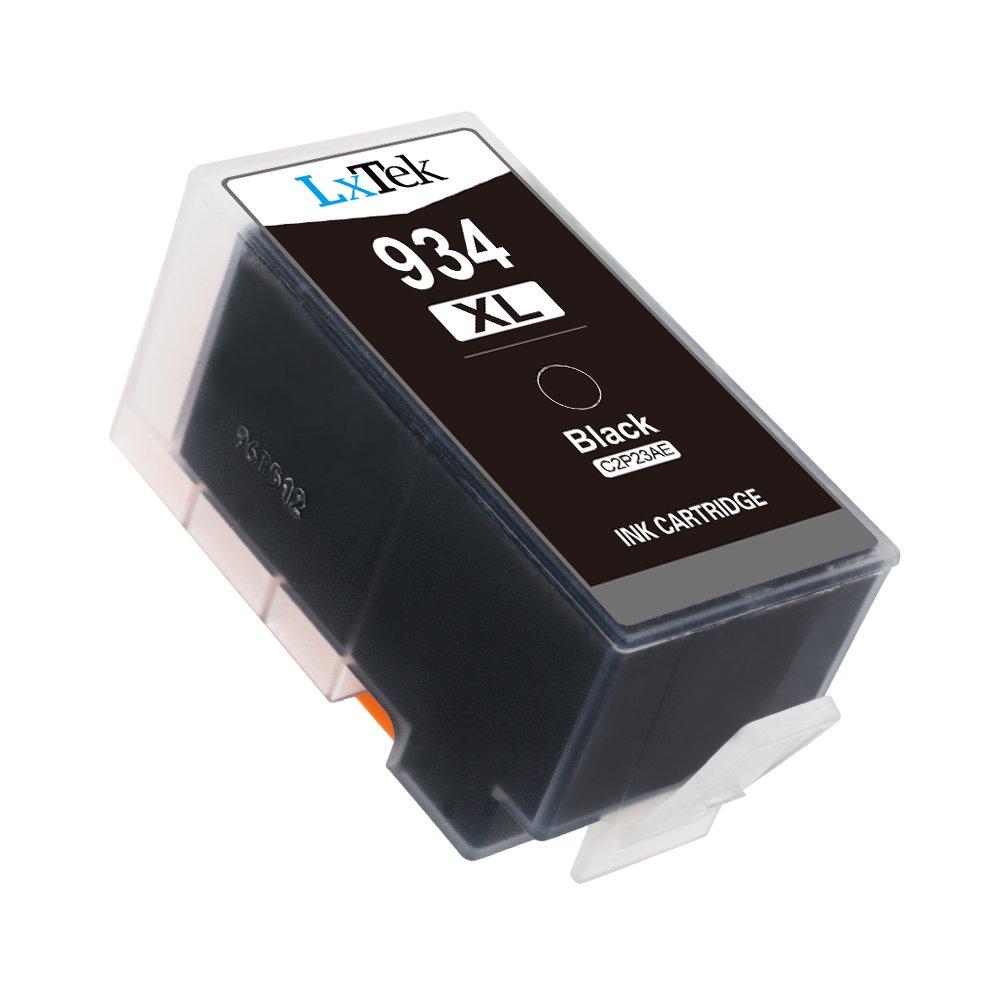 LxTek Compatible Cartuchos de Tinta Reemplazo para HP 934XL 935XL 934 935 Alta Capacidad (1 Negro, 1 Cian, 1 Magenta, 1 Amarillo) para HP Officejet ...