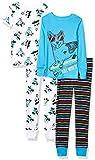 Spotted Zebra Boys' Infant Snug-Fit Cotton Pajamas