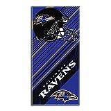 Northwest Baltimore Ravens NFL Fiber Reactive Beach Towel Diagonal Series