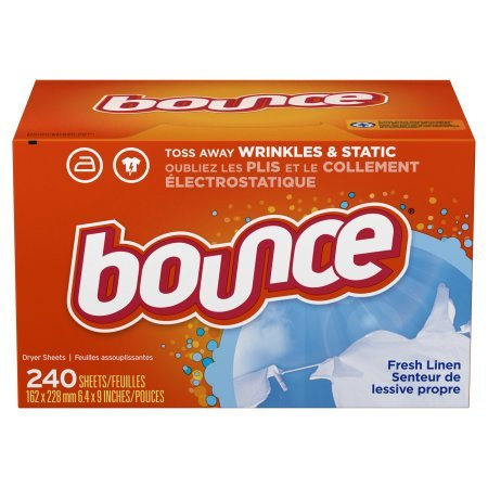 Bounce Dryer Sheets, Fresh Linen, 240 Count - 2 Pack