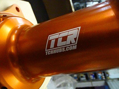 TCR Front & Rear Set Wheel Hubs KTM Orange 125 250 300 350 450 525 SX SXF 07-16 by TCR (Image #2)