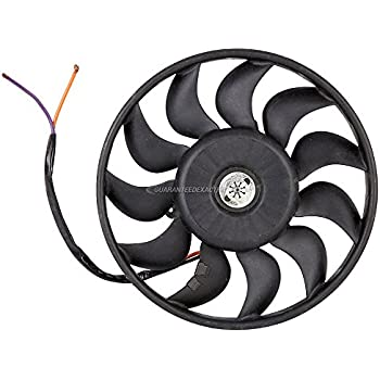Amazon Com Condenser Or Radiator Cooling Fan Assembly For Audi A6