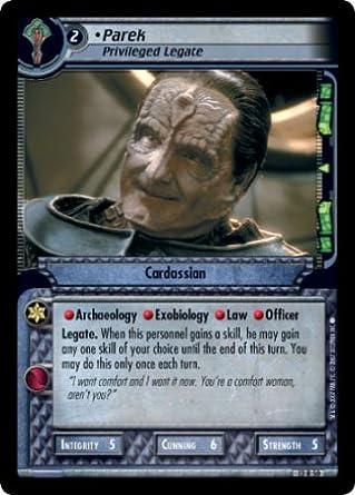 Star Trek CCG 2E IAMD FOIL 13A2 Paranoid Escape
