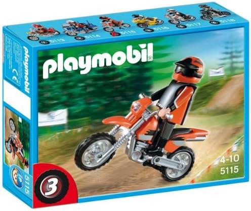 PLAYMOBIL Enduro 5115 - Bicicleta de Juguete: Amazon.es: Electrónica