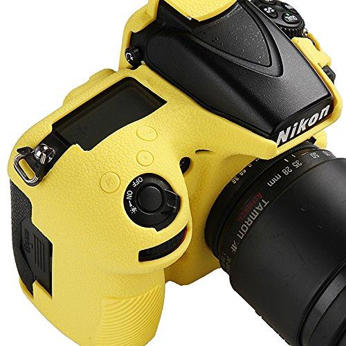 Easyhood - Funda Protectora para cámara Nikon D810 D810a (Silicona ...