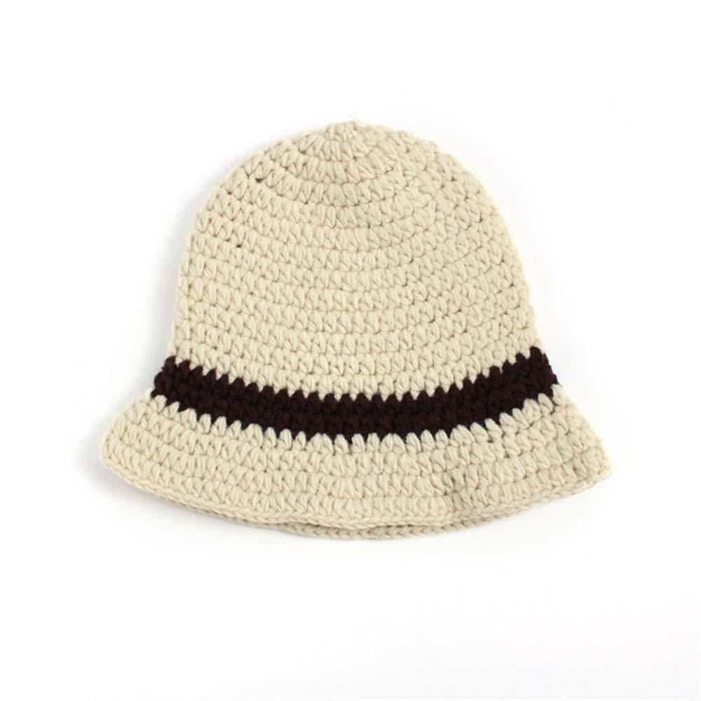 Y-WEIFENG New Baby Invierno Warm Kids Knitted Hat Infant Toddler Kids Warm Beanie Cap Juegos de Zapatos. 5ef99d