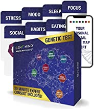 Genomind Mental Health Map: DNA Test for Genetic Insights into Your Mental Health and Wellness Including Stres
