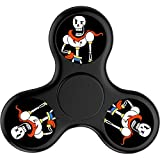 DANDAN-99 Custom Undertale papyrus Fidget Spinner Tri-Spinner High Speed Spin,Perfect For ADD ADHD Focus Toy Time Killer
